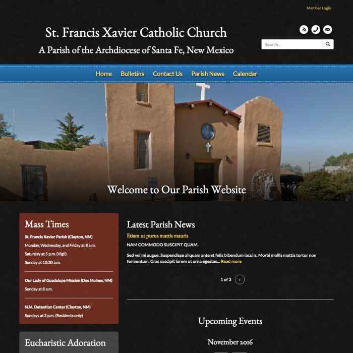 St. Francis Xavier Parish - Clayton, NM