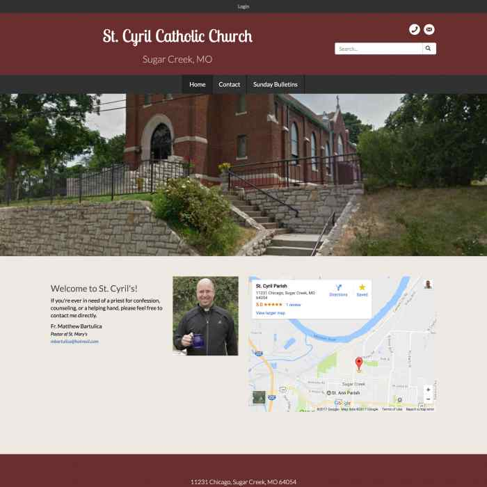 St. Cyril Catholic Church • Sugar Creek, Missouri